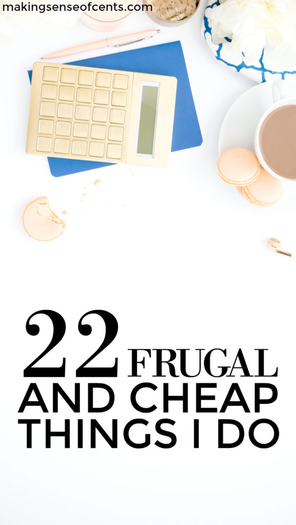 I'm often asked why I am interested in being frugal even though I have a high income. To me, it's a no brainer. Frugal living tips save me money AND time.